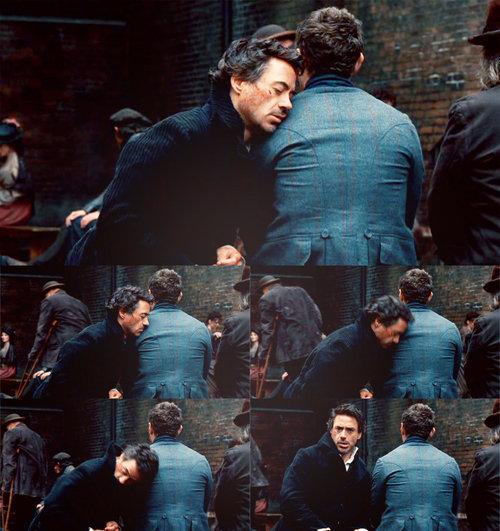 Sherlock Holmes - Cenas
