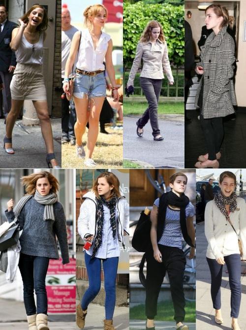 Emma Watson looks